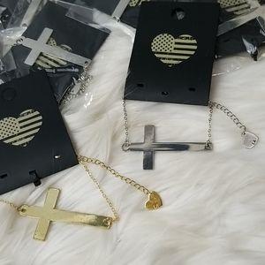 Brandy Melville Cross Bracelet Bundle
